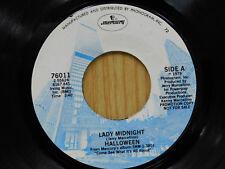 Halloween 45 Lady Midnight bw same   Mercury M-