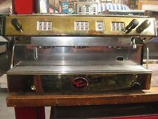 3 Group Brasilia Espresso Machine GOLD