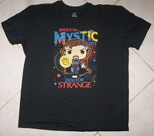 NEW FUNKO POP MARVEL DR STRANGE Master Of The Mystic Arts T-SHIRT Black 2XL NWOT