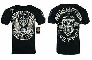 ARCHAIC AFFLICTION Men's T-Shirt MIDKNIGHT Premium Athletic Tattoo Biker
