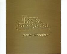 CD BRASS CONSTRUCTION	movin & changin - the best of	HOLLAND EX+  (A1267)