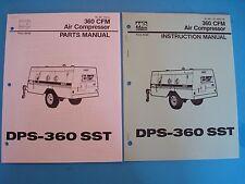 MQ Power 360CFM DPS-360SST Air Compressor Parts Manual & Instruction Manual