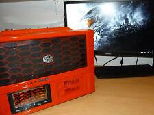 Gaming PC ; Cooler Master HAF XB Evo Cube ; Rot lackiert ; Gedämmt ; Beleuchtet