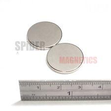 Strong Magnets 20x2 mm Neodymium Disc round craft magnet 20mm dia x 2mm fridge