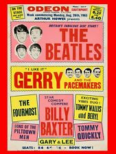 """Beatles SOUTHPORT 16"""" x 12"""" Photo Repro Concert Poster"""