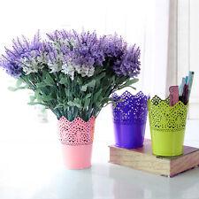 Metal Pen Holder Office Desk Vase Organiser Stationery Tidy Holder Pen Pot Decor