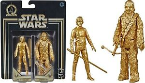 Star Wars Commemorative Edition Skywalker Saga Luke and Chewbacca IN HAND NEW