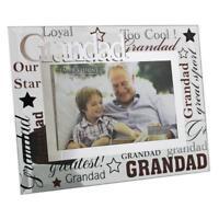 "Grandad Gift - Grandad glass picture photo frame 6""x4"" FG573GD"