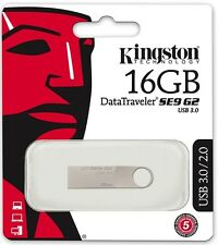Kingston 16GB DataTraveler SE9 G2 16G USB 3.0 metal Pen Drive DTSE9G2/16GB Retai