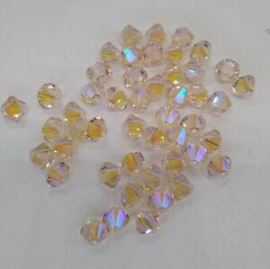 12pc Swarovski Crystal Limited Edition Silk Shimmer 2X 6mm Bicone 5328 Beads