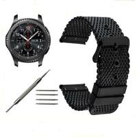 22MM Milanese Stainless Steel  Watch Band + Tool for Moto 360 2nd Gen Man 46mm