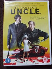 The Man From U.N.C.L.E. DVD.Henry Cavill,Armie Hammer..BRAND NEW AND SEALED.