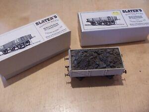 Vintage SLATERS O GAUGE Built Model Kit MIDLAND RAILWAY 3 & 4 Plank OPEN WAGONS
