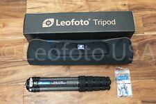 USED Leofoto LS-365C Pro Carbon Fiber Tripod with Bag and Box