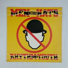 MEN WITHOUT HATS Rhythm Of Youth BSR5436 Precision LP Vinyl VG++ Cover VG+ nr++
