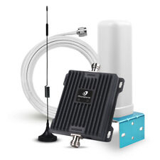 4G 700MHz Cell Phone Signal Booster LTE Band 12/17/13 Repeater Kit AT&T Verizon