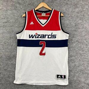 Washington Wizards Backetball Jersey Mens Size M Medium Swingman Adidas 195.09