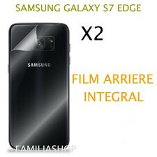 Lot 2 Films Rear Protection Whole For Screen Curved Samsung Galaxy S7 Edge