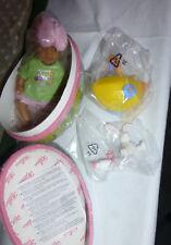 Baby Born Miniworld Osterei mit Puppe + Fläschchen Nuckel Hase Korb