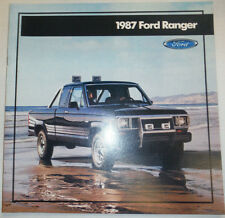 Ford Ranger Catalog 1987 122614R