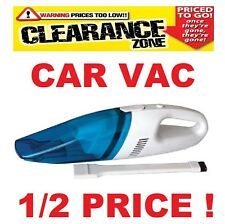 CLEARANCE 12 Volt Car Vac / Hoover Plug In Cig Lighter & - SWCV 1/2 PRICE !