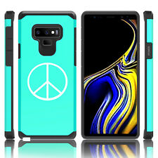 For Samsung Galaxy Note 8 9 Shockproof Hard Case Cover Peace Sign