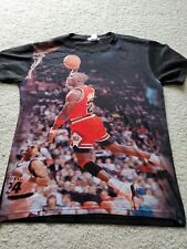 Vintage Michael Jordan Signature Dunk T-Shirt pre owned print all over