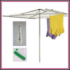 Household Essentials H150 30 Line Outdoor Umbrella Clothes Clothesline Dryer