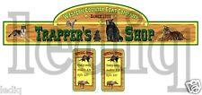 Sticker set  Trapper´s Shop western cowboys for playmobil