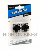 Exustar E-C01F - SPD Cleats for Shimano SPD Clipless Pedals & Others