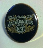 "Collectors item ""There's Nothing Jack Daniels"" oval lapel/hat pin - new"