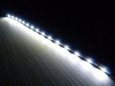 12'' Waterproof Car Motorcycle Light Flexible Decorative Light LED Strip White