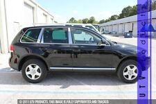 GTG 2004 - 2010 VW Volkswagen Touareg 6PC Chrome Stainless Steel Pillars Posts