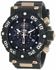 Swiss Made Invicta 0655 Subaqua Nitro Chronograph Watch with 8-Slot Dive Case
