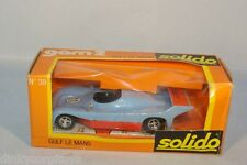 SOLIDO 38 FORD GULF LE MANS MINT BOXED RARE!