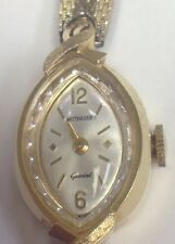 Wittnauer mens gold plated band wristwatches ebay vintage wittnauer womens 14k yellow gold wrist watch geneve lw sciox Choice Image