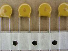 15 pf 3000 volt 3KV 5 /% C0G leaded ceramic capacitor S01017 5 Piece Lot