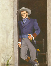 JIM BOWIE ALAMO HERO ART PRINT