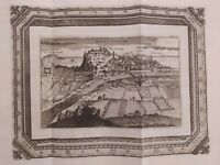 1723 Van der Aa Veduta di Nizza Nice Francia Nicaea Civitas