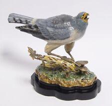 Messing Keramik Figur Vogel Wiesenweihe neu 99937872-dss