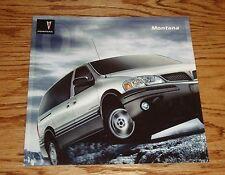 Original 2005 Pontiac Montana Sales Brochure 05