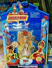 Chicken Run MAC  Action Figure NEW!!! FREE S/H Playmates