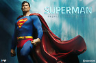 DC Superman Classic Comic Premium Format Figure Sideshow Collectibles Statue