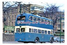 gw0139 - Bradford Trolleybus BCT 706 at Duckworth in 1972 - photograph