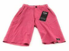 TRUNKS Multifunctional Shorts Boys Size Medium Solid Red Elastic Waist