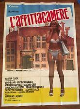 Manifesto,4F D,L'AFFITTACAMERE GLORIA GUIDA LINO BANFI SALCE SEXY EROTICO 1976