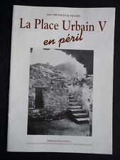 LA PLACE URBAIN V en péril Anne Tremolet de Villers PATRIMOINE MENDE LOZERE TBE