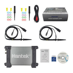 Hantek 6022BE Storage 2CH FFT PC Based Digital Oscilloscope USB 48MSa/s 20MHz