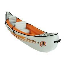 Blueborn Boat Indika 2 - Canoa per 2 persone con telo di nylon 325x80 cm (portat