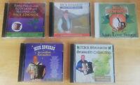 Mick Edwards - Irish Scottish Celtic Traditional Music 5 x Audio CD Bundle
